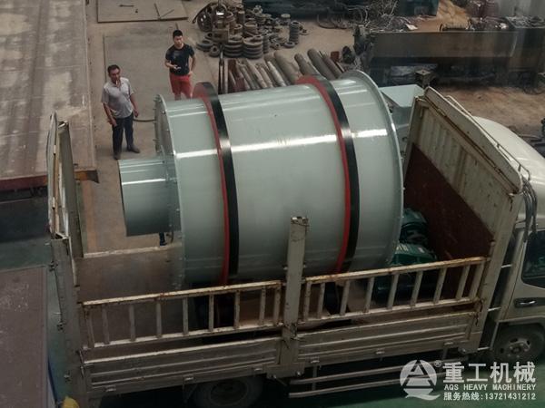 5吨河沙烘干机