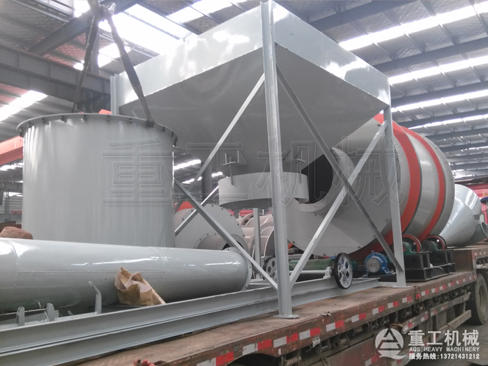 10吨沙子烘干机