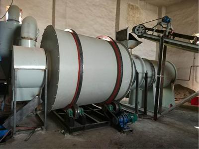 10吨天然气沙子烘干生产线
